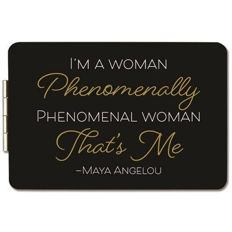 Maya Angelou Phenomenal Compact Mirror