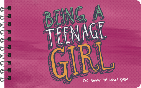 Being a Teenage Girl Illustrated Book