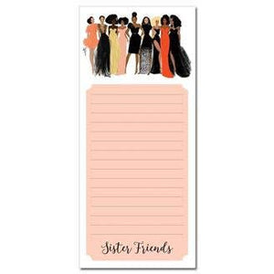 Sister Friends Magnetic Notepad