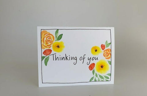 Thinking of you - Paper Lili Handmade