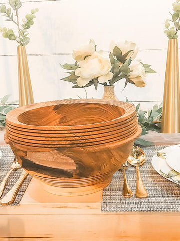 Ash Bowl-Dave Barry's wooden bowl collections