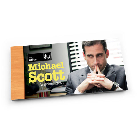 The Office: Michael Scott Wisdom Notes 'Lunch Notes'