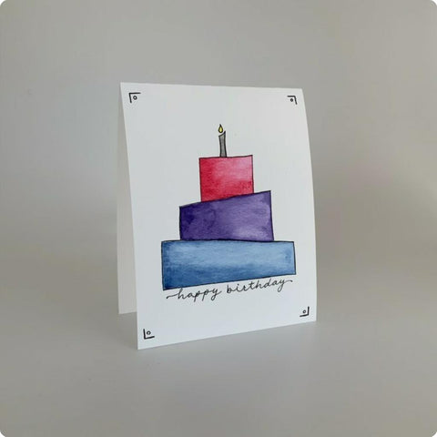 Happy Birthday - Paper Lili Handmade