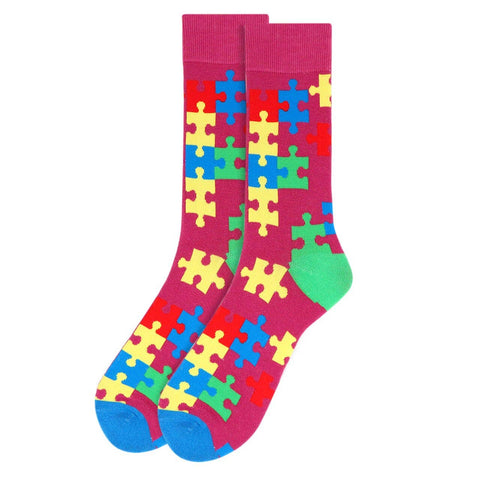 Autism Awareness Socks for Men