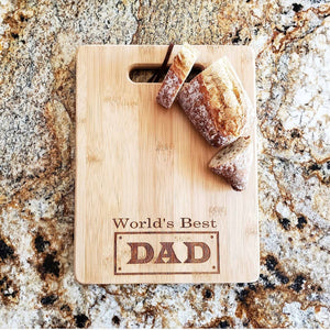 Cutting Board- World's Best Dad