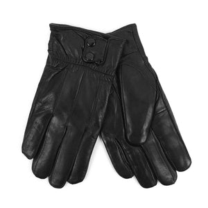 Men's Genuine Leather Winter Gloves with Soft Acrylic Lining
