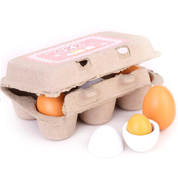 6pcs simulation eggs toy