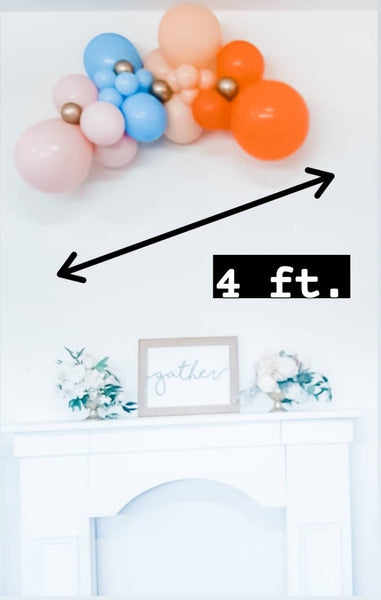 Biodegradable Balloons Garland-For pick up or HRM delivery