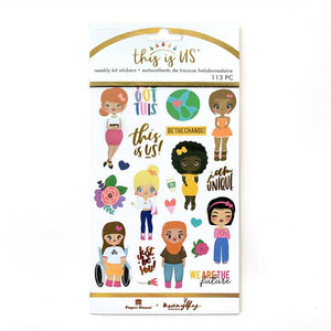 Just Be You Weekly Sticker Kit