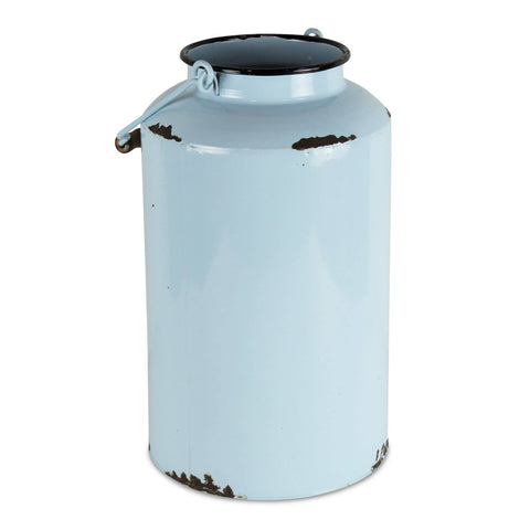 Lacquered Blue Jug with Handle