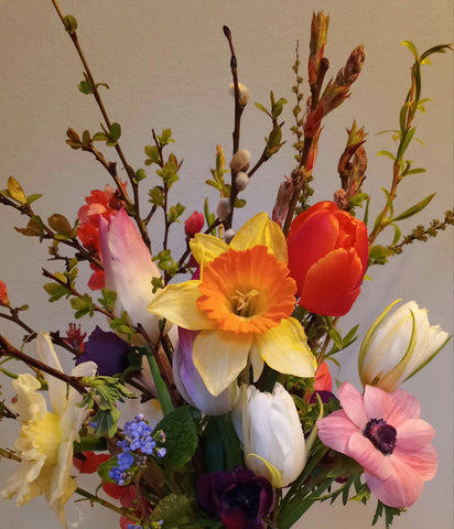 Mother's day bouquet.. saturday or sunday curbside p/u or HRM only  delivery