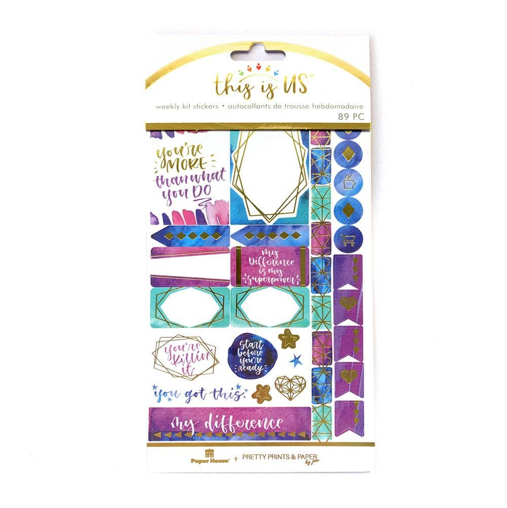 Empowerment Weekly Sticker Kit