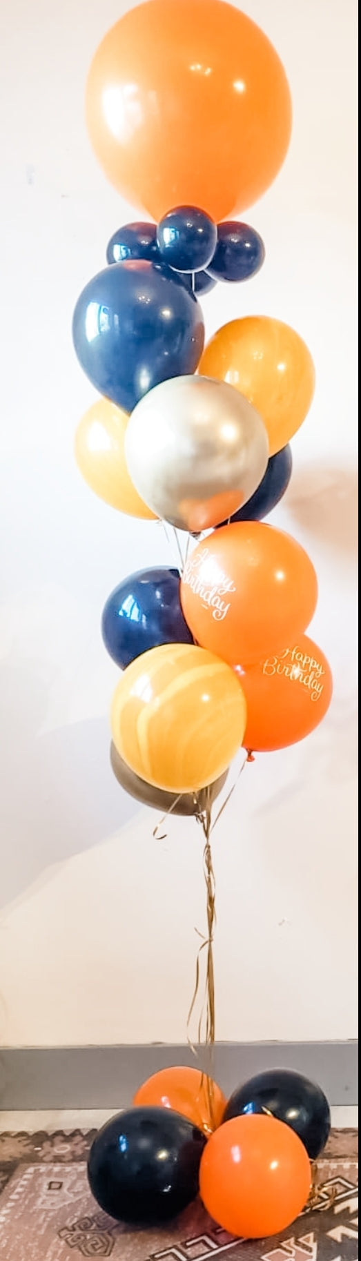 Helium Balloons Bouquet -For pick up or HRM delivery