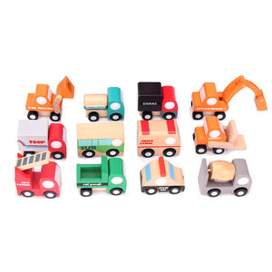 Indivually packed Miniature wooden car toys