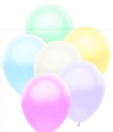 "Funsational 12"" latex balloon -15ct- plain, 12ct -assortment,  8ct -printed)"