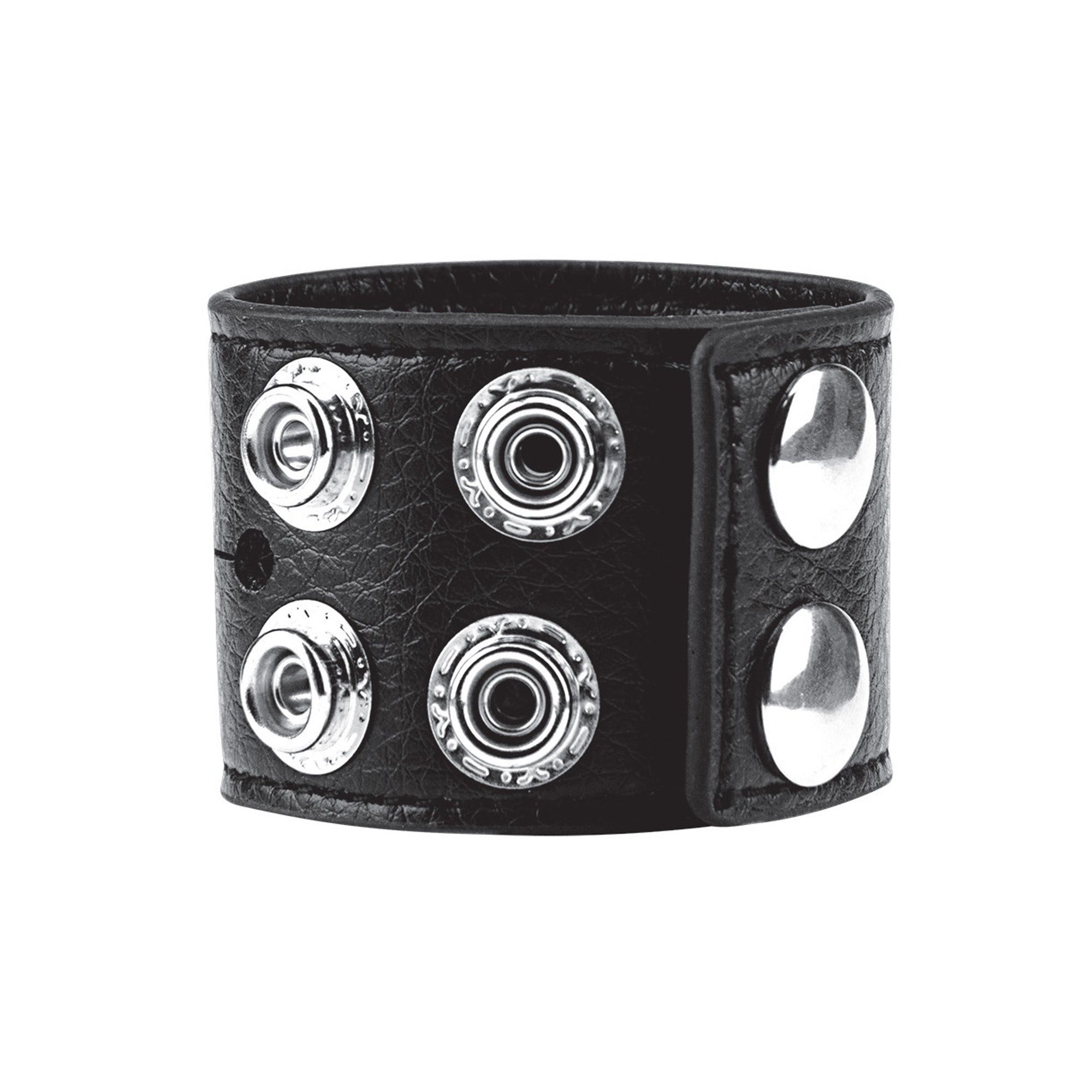 "Blue Line Men 1.5"" Cock Ring With Ball Strap"