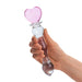 8 inch Sweetheart Glass Dildo