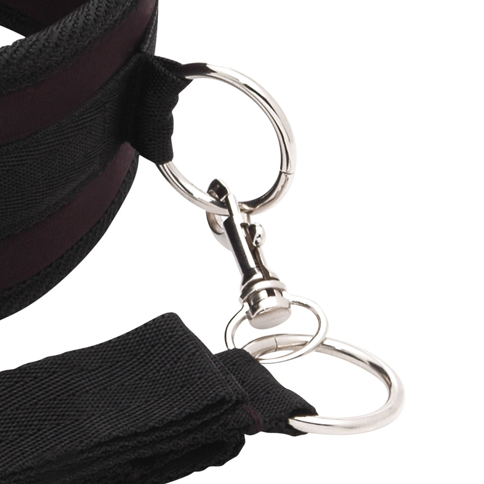 Lux Fetish Collar And Leash Set