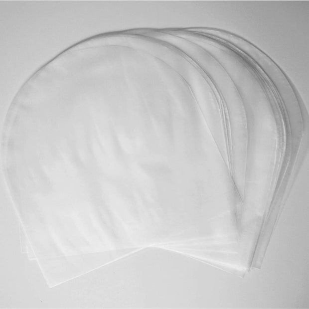Round Bottom HDPE Inner Record Sleeves