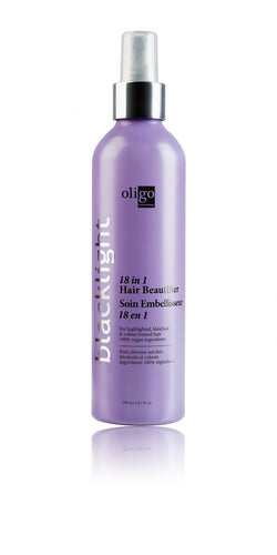 Oligo Blacklight  18 in one leave in conditioner