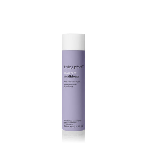 Living Proof Color Care Conditioner A conditioner that forms a protective layer to help lock in color and helps replenish the outer layer often damaged during the coloring process.  Lightweight conditioning Enhances natural shine Helps lock in your color Helps hair stay cleaner, longer