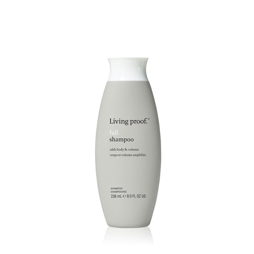 Living Proof Full Shampoo A gentle, yet thoroughly cleansing shampoo that helps to transform fine, flat hair to look, feel and behave like naturally full, thick hair.  Gently cleanses Keeps hair cleaner, longer Ideal for fine, flat hair