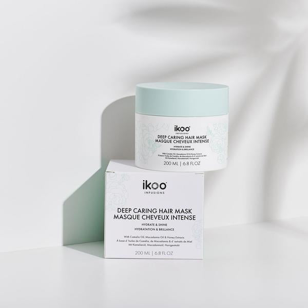 ikoo DEEP CARING HAIR MASK FOR DRY, BRITTLE HAIR Hydrate & Shine