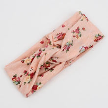 Load image into Gallery viewer, Knotted Soft Floral Headband