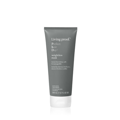 Living Proof Weightless mask how to use After shampooing, apply generously from roots to ends, leave on for five minutes. Rinse. Use 1-2 times per week as needed as a conditioner replacement.