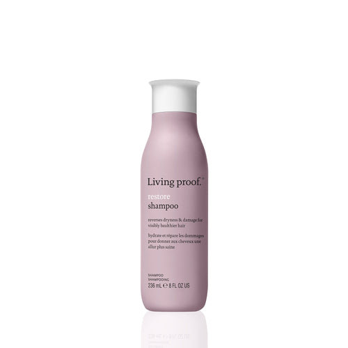 Living Proof Restore Shampoo A gentle shampoo that's the first step to making dry, damaged hair feel and look visibly healthier.     Helps restore damaged hair cuticles Strengthens and protects hair from damage