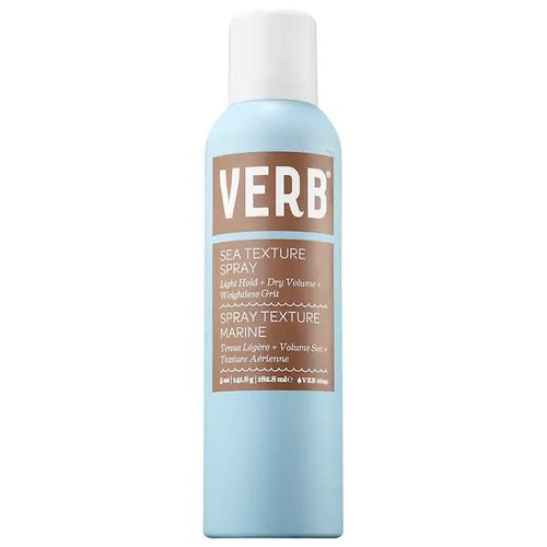 VERB Sea Texture Spray - A dry texture spray that gives hair natural, lived-in texture with light hold and volume for flexible waves.