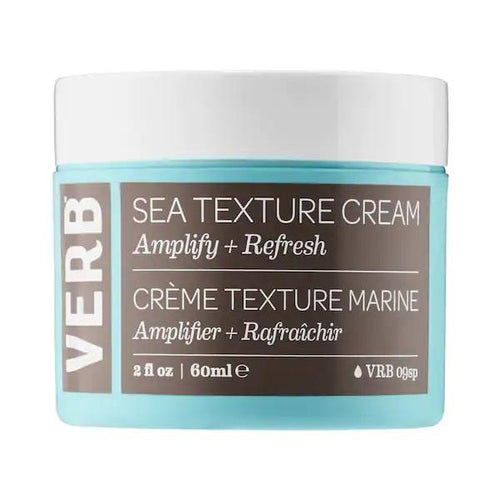 VERB Sea Texture Cream - A texturizing leave-in cream that refreshes hair for instant volume, touchable hold, and a breezy texture.
