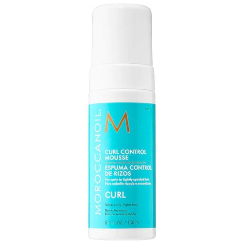 Moroccan oil curl control mousse for curly hair