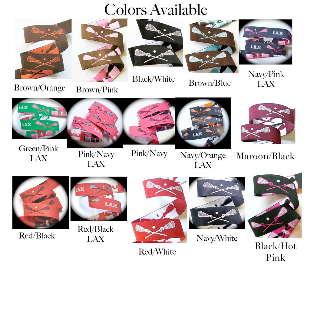 Lacrosse Sticks - 15 Color Choices