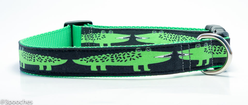 After Awhile, Crocodile in Gray/Lime