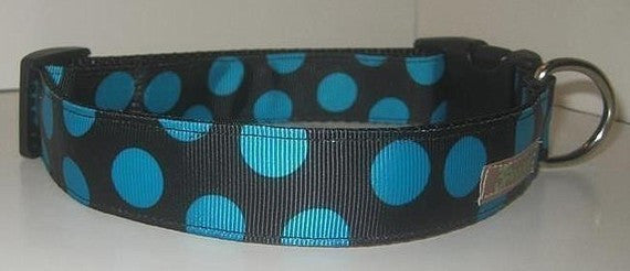 Polka Dot - Teal/Black