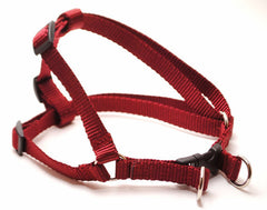 Classic Solid Personalized Step in Harness