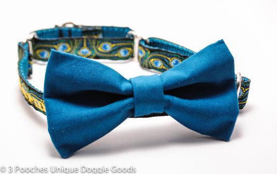 Solid Coordinating Bow Tie to match collar