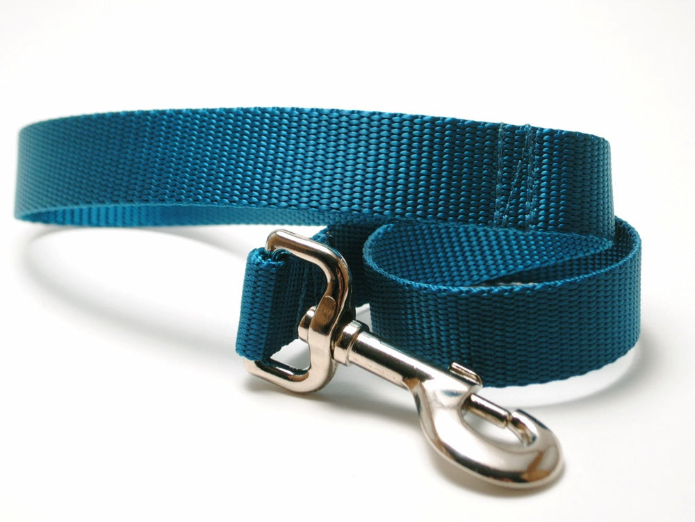 Classic Solid Dog Leash - Traffic Lengths