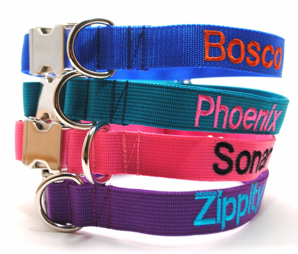 Classic Solid Personalized Collar