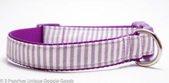 Preppy Pinstripe - Purple, Light Blue, or Light Pink