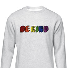 Load image into Gallery viewer, Be Kind Embroidered Sweatshirt Sweatshirt ALLPOP