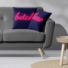 Load image into Gallery viewer, 'Bitch Please' Neon Cushion Set Cushion ALLPOP