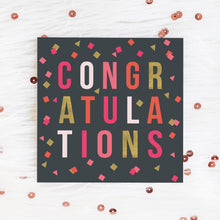 Load image into Gallery viewer, Confetti Congratulations Card Greetings Card ALLPOP