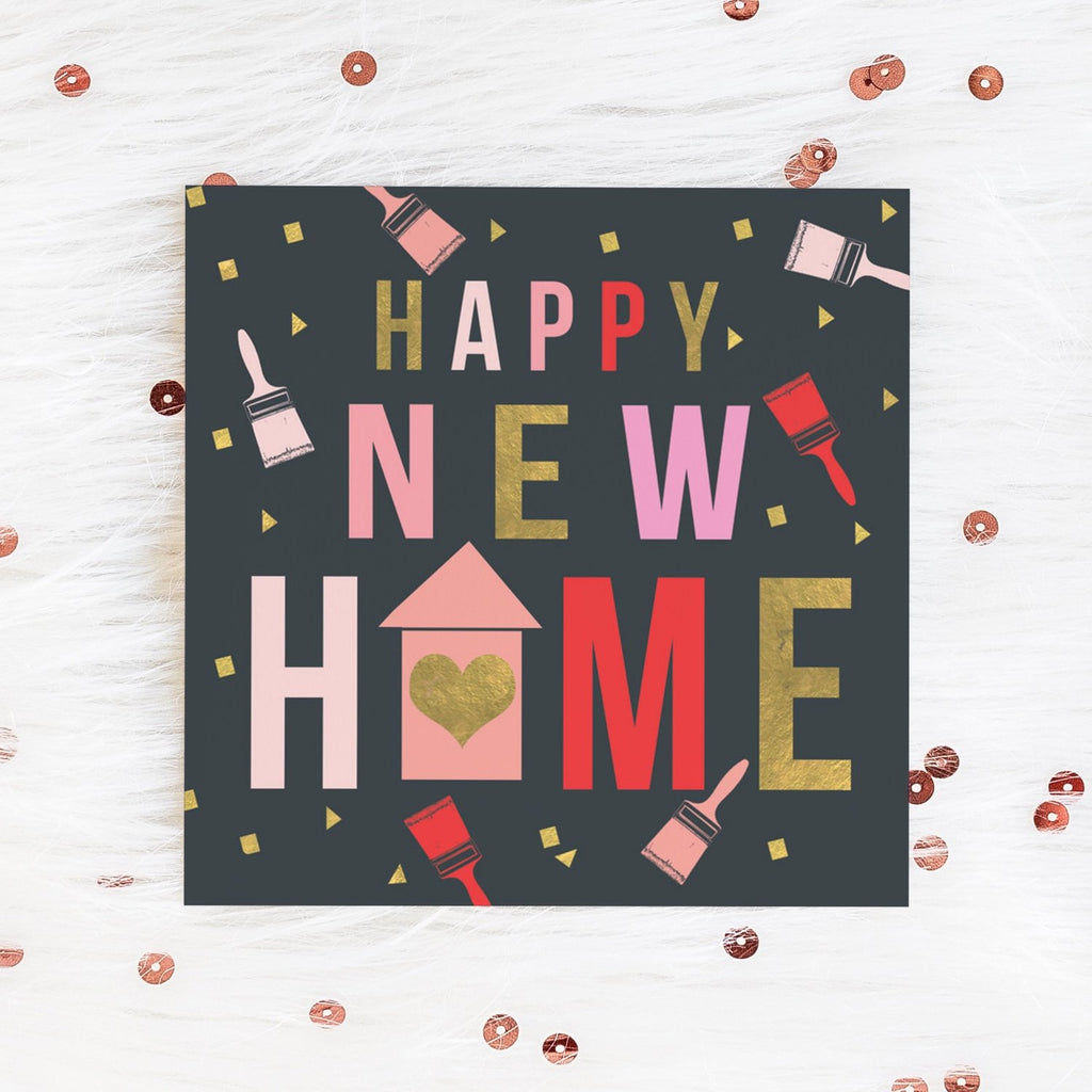 Confetti Happy New Home Card Greetings Card ALLPOP