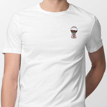 Load image into Gallery viewer, Gum-Ball Machine Embroidered T-Shirt T-Shirt ALLPOP