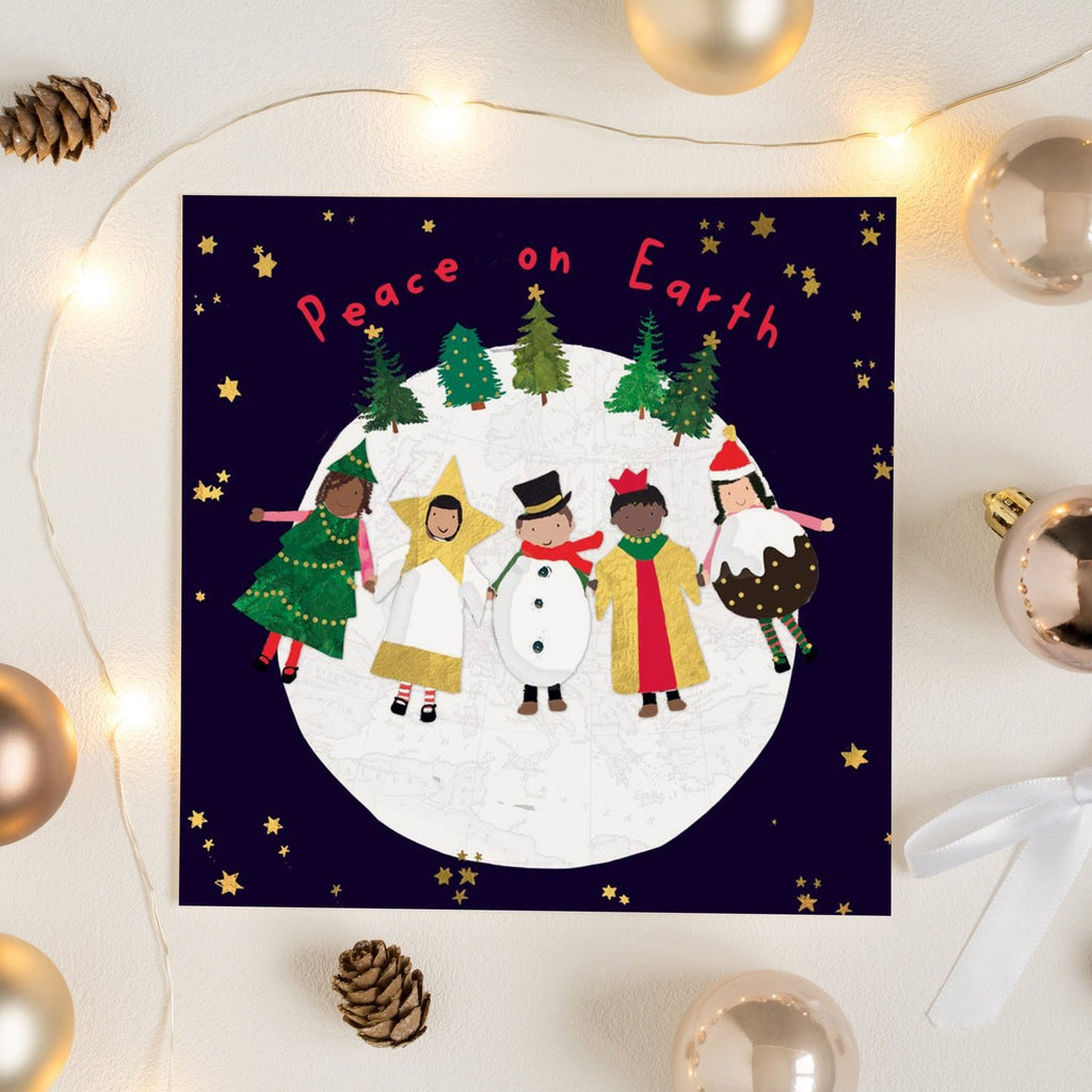 Nativity Characters Christmas Card Greetings Card ALLPOP