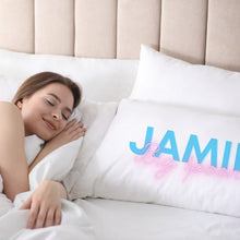 Load image into Gallery viewer, Personalised Neon Big Little Spoon Pillowcases Pillowcase MBT