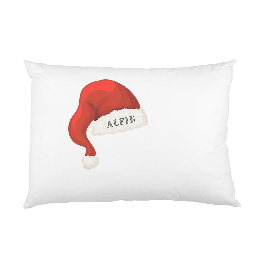 Personalised Santa Hat Name Pillowcase Pillowcase MBT