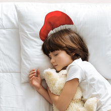 Load image into Gallery viewer, Personalised Santa Hat Name Pillowcase Pillowcase MBT